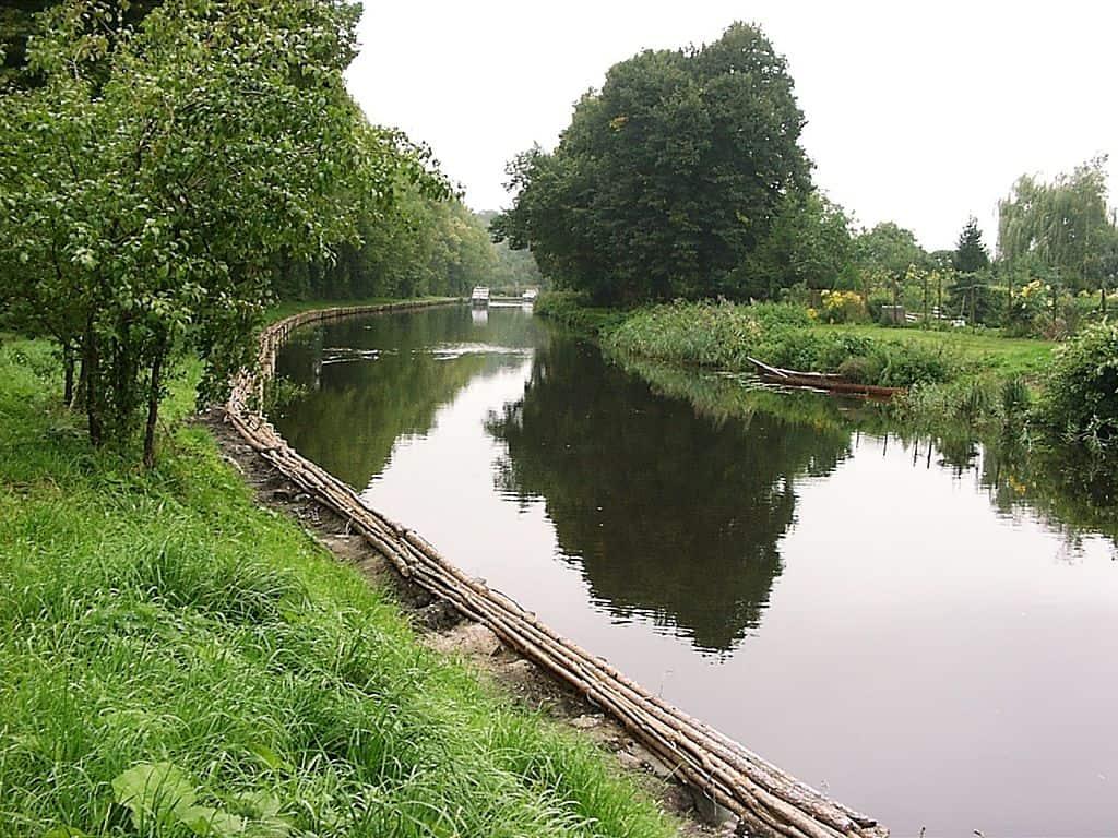 Templiner Kanal in Templin