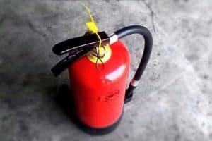 Brandschutzausrüstung in Gebäuden