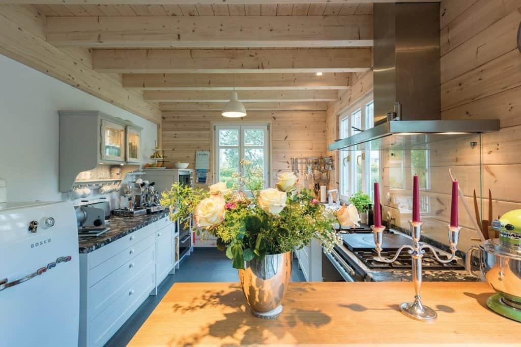 Wohlfühlbereich in der Küche