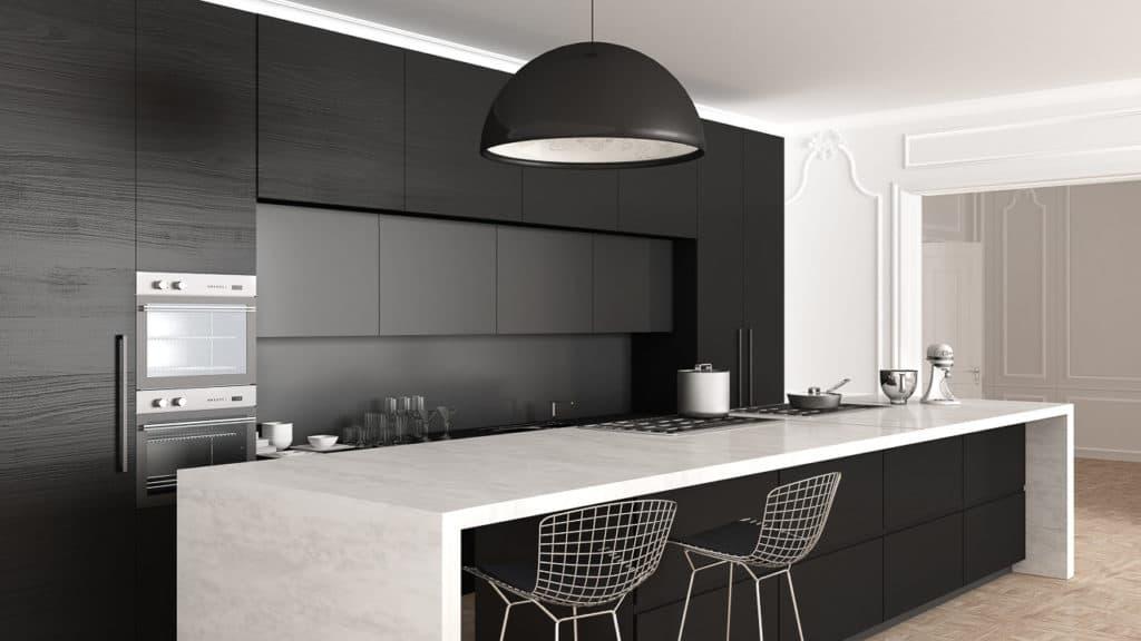 Hauptlicht in der Küche