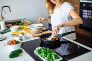 Kochfeld in der Küche