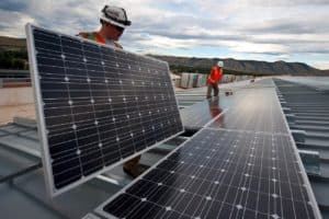 Umweltfreundliches Bauen gewinnt angesichts des Klimawandels immer mehr an Relevanz.