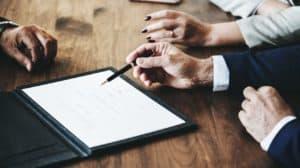Unterschrift des Maklervertrages