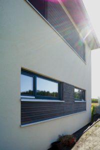Gebaut wird bei MAX-Haus mit natürlichen Materialien und einem durchdachten Energiesparkonzept. © SF