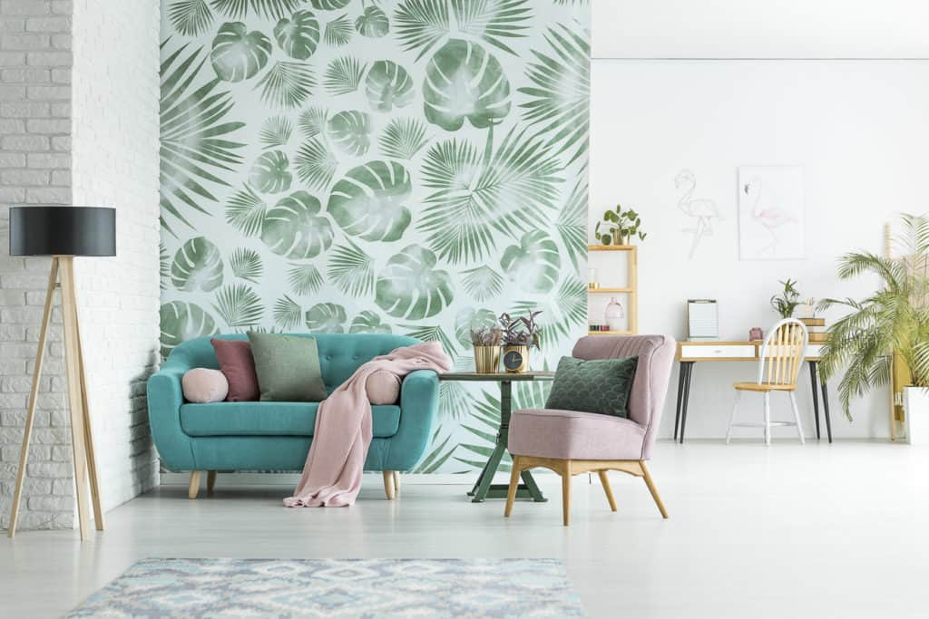 Wohnen mit floralem Design