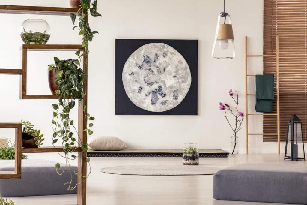 Wohnraum mit japanisches Design