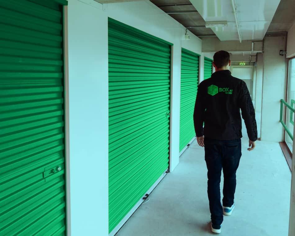 Self-Storage ist die moderne Form des Lagerraum mietens