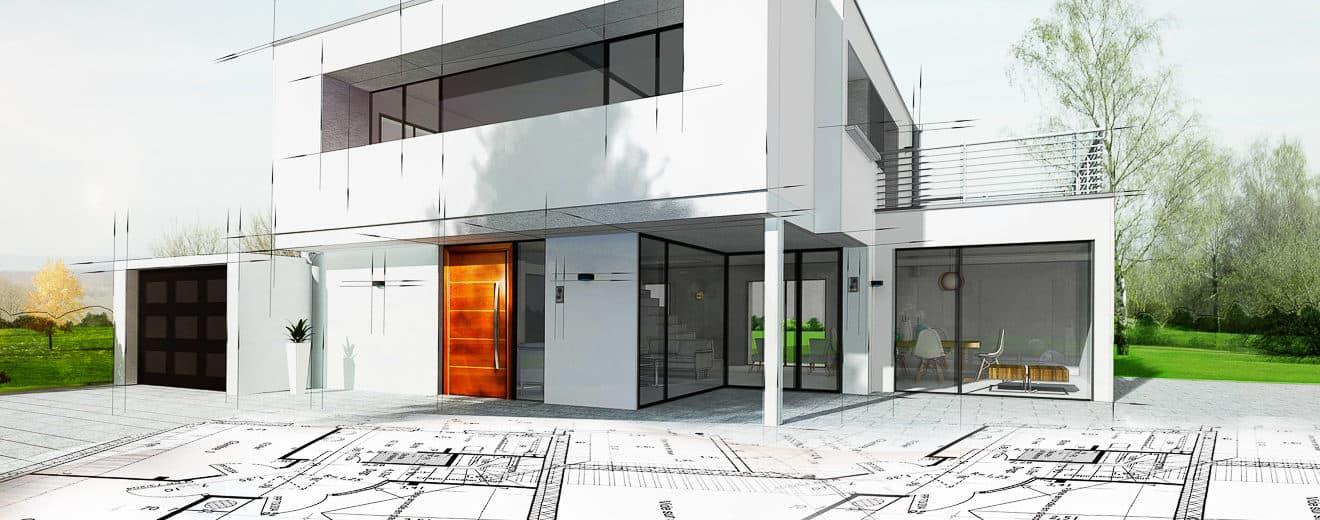 Entwurf eines Architektenhaus