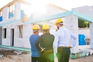 Bau eines Architektenhauses
