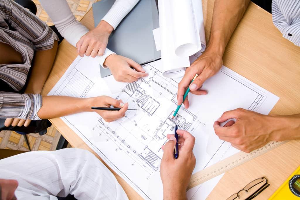 Gemeinsame Grundrissplanung