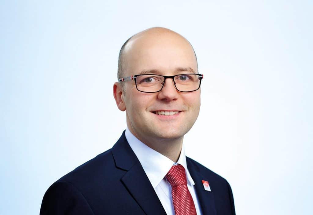 Enrico Roth ist einer von zwei Geschäftsführern der Bau- GmbH Roth