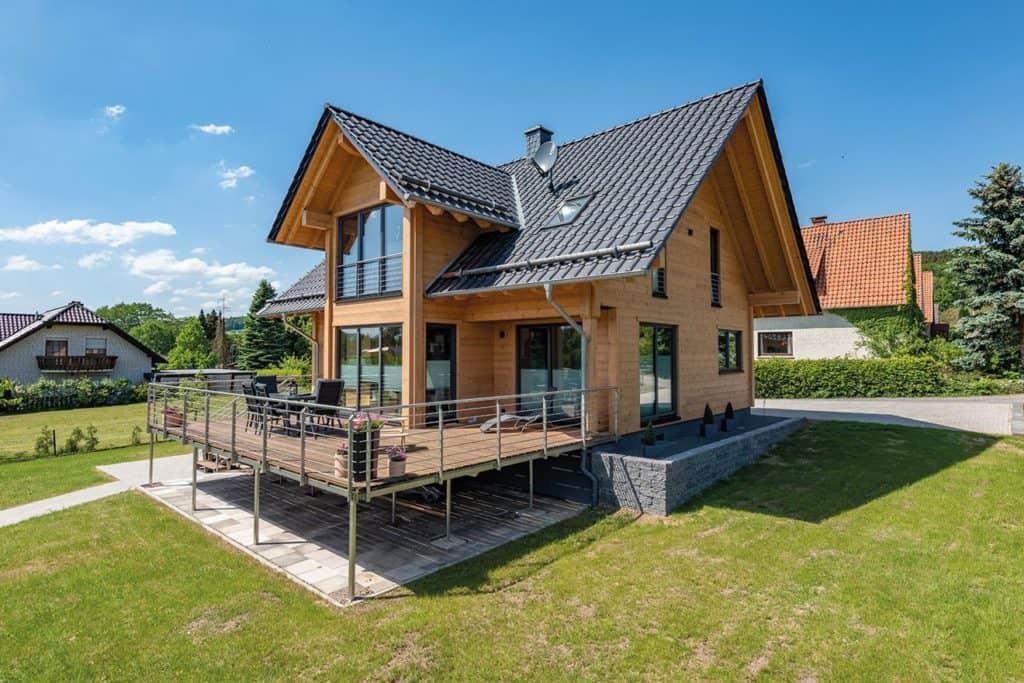 Holzhaus von Fullwoodhaus