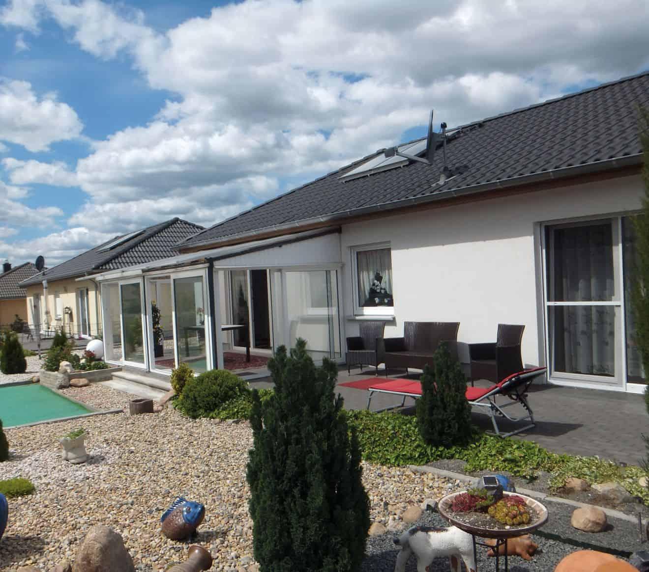 Familie Wolter lebt in Bayern und baute zwei Häuser in Sachsen-Anhalt