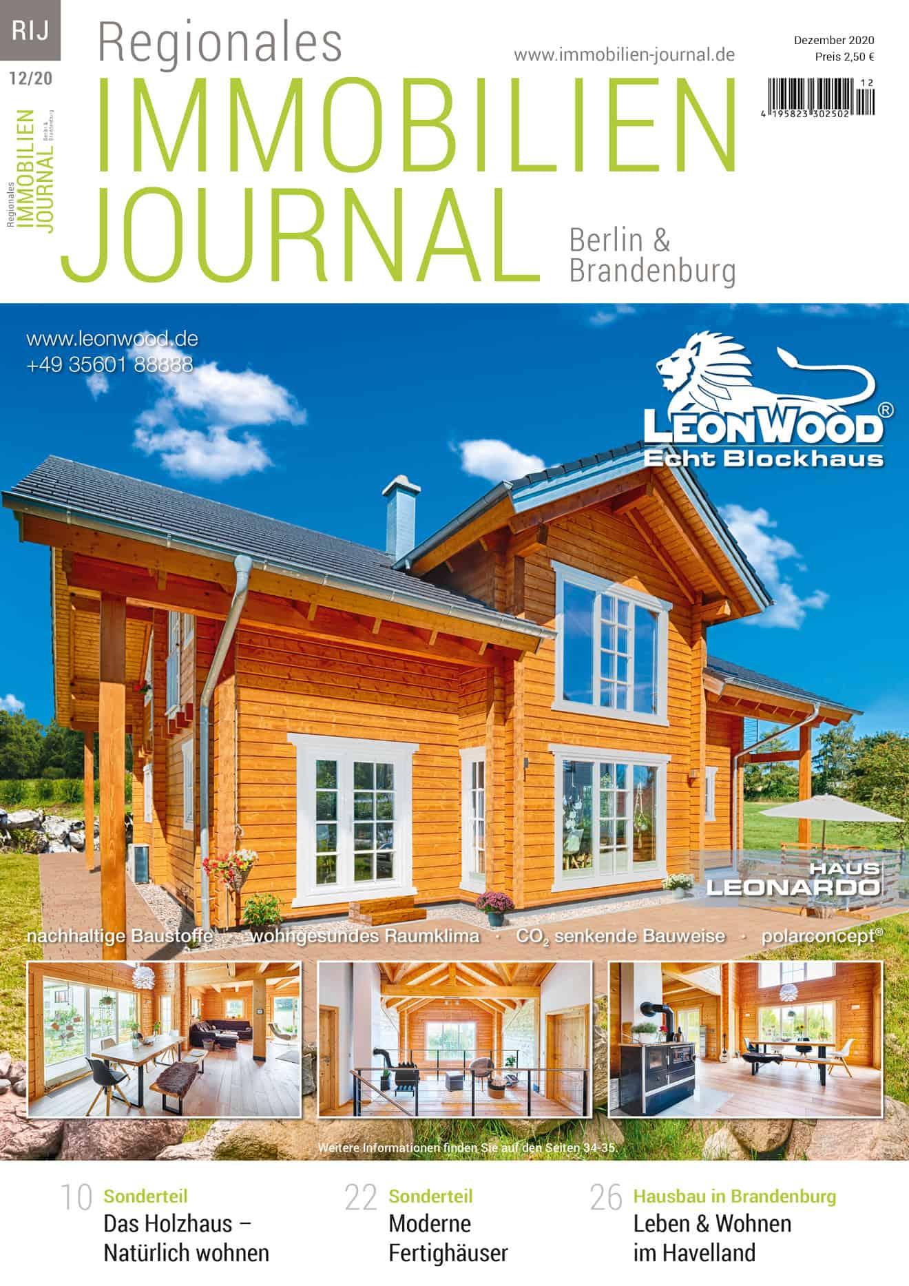 Regionales Immobilien Journal Berlin & Brandenburg 12-2020