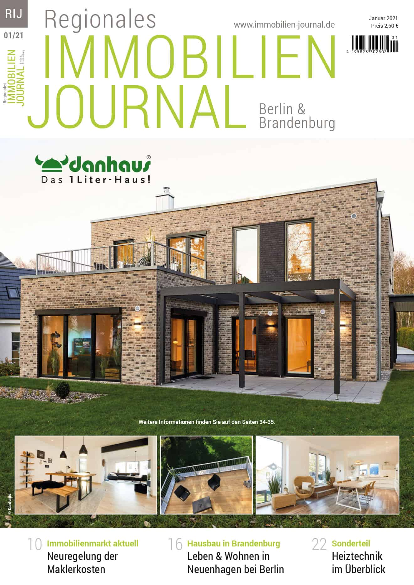 Regionales Immobilien Journal Berlin & Brandenburg 01-2021