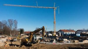Bauboom bei Ein- und Zweifamilienhäusern