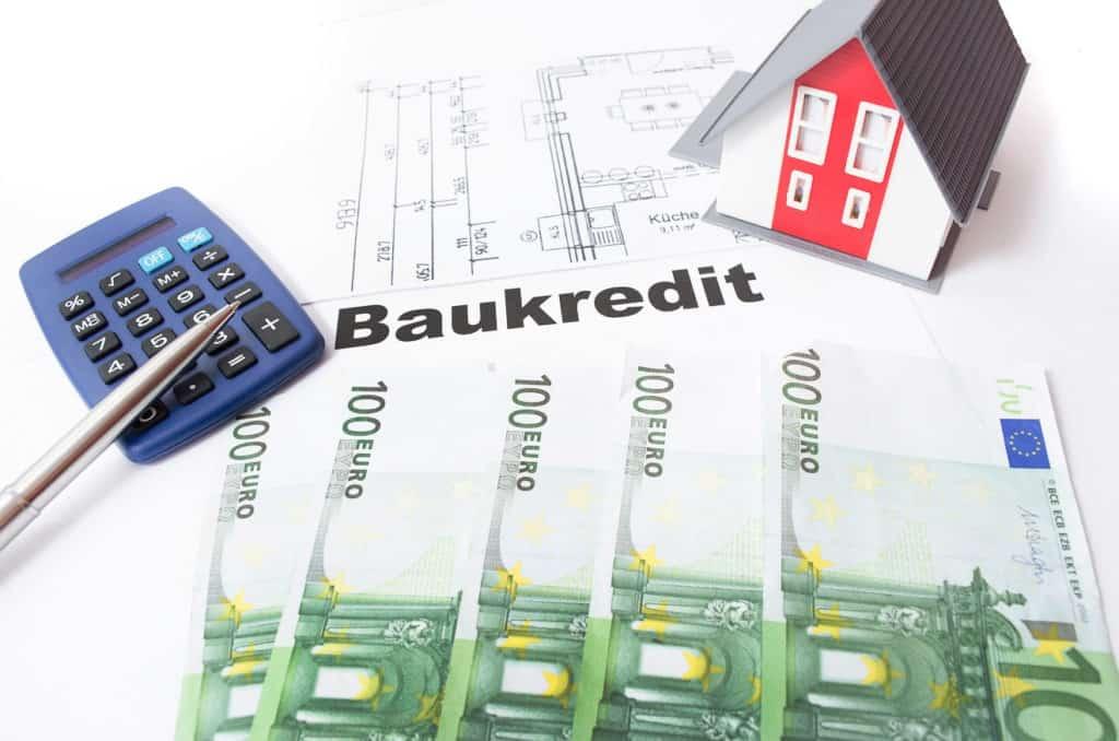 Baukredit, Kosten für das Haus