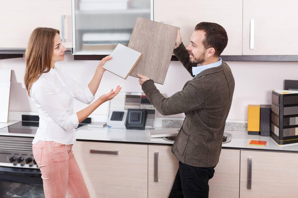 Beratung im Küchenstudio